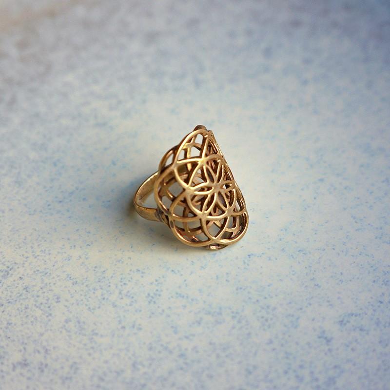 Латунь кольцо своими руками 55